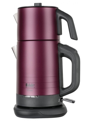 Fakir River Çelik Çay Makinesi Violet  Renkli